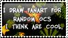 OC fanart stamp by invader-zim-14