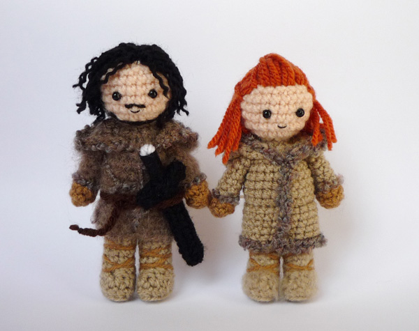 Jon and Ygritte by LunasCrafts