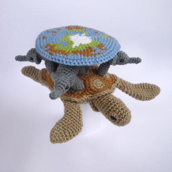 Amigurumi Discworld : Crochet Discworld by LunasCrafts on DeviantArt