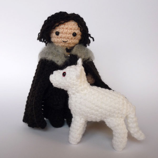 Halloween Amigurumi Little Ghost Plushie Free Crochet Pattern | 600x600