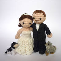 Wedding dolls #2 by LunasCrafts
