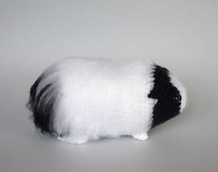 Long-haired guinea pig by LunasCrafts