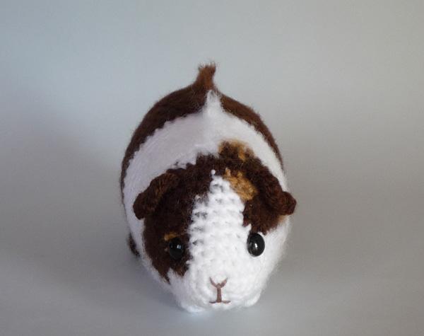 Crochet Amigurumi Guinea Pig : Custom ridgeback guinea pig by LunasCrafts on DeviantArt