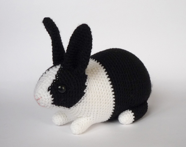 Free Crochet Patterns Of Bunnies : Dutch rabbit by LunasCrafts on DeviantArt