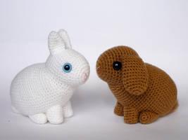 Dwarf rabbits by LunasCrafts