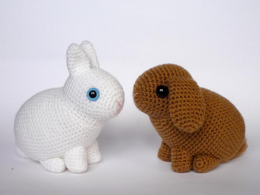 Dwarf rabbits by LunasCrafts on DeviantArt