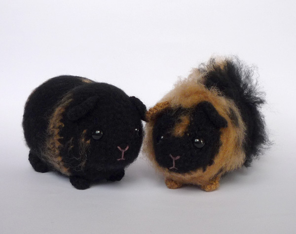Amigurumi Guinea Pig : Custom guinea pigs by lunascrafts on deviantart