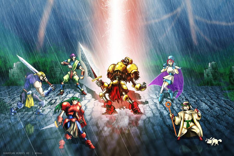 Guardian Heroes HD by modusprodukt