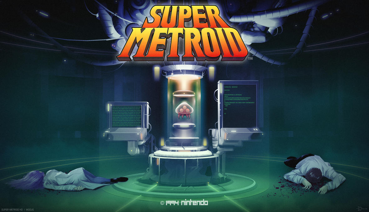 Super Metroid HD by modusprodukt