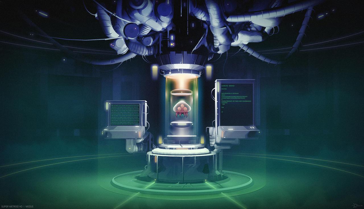 Super Metroid HD 'clean'