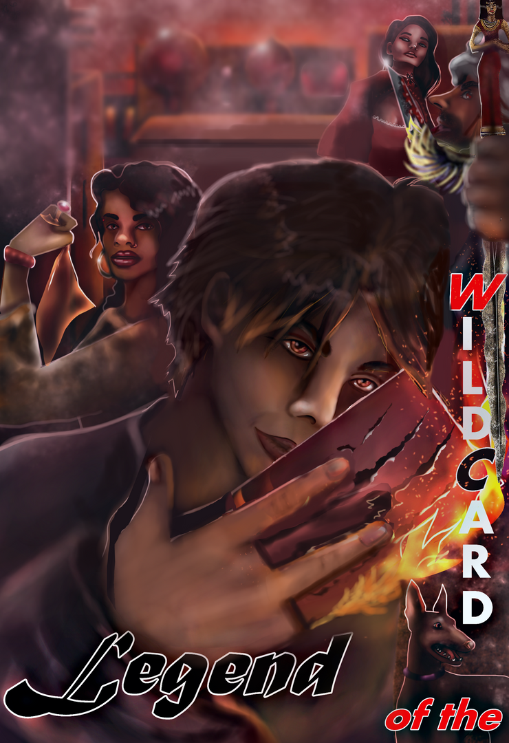 Legend of the Wildcard - Illustrated Novel - by AndreeaLupsaNL