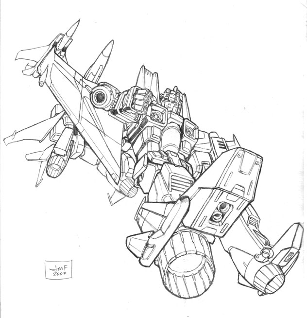 Classics starscream by johnny216 on deviantart for Transformers coloring pages starscream