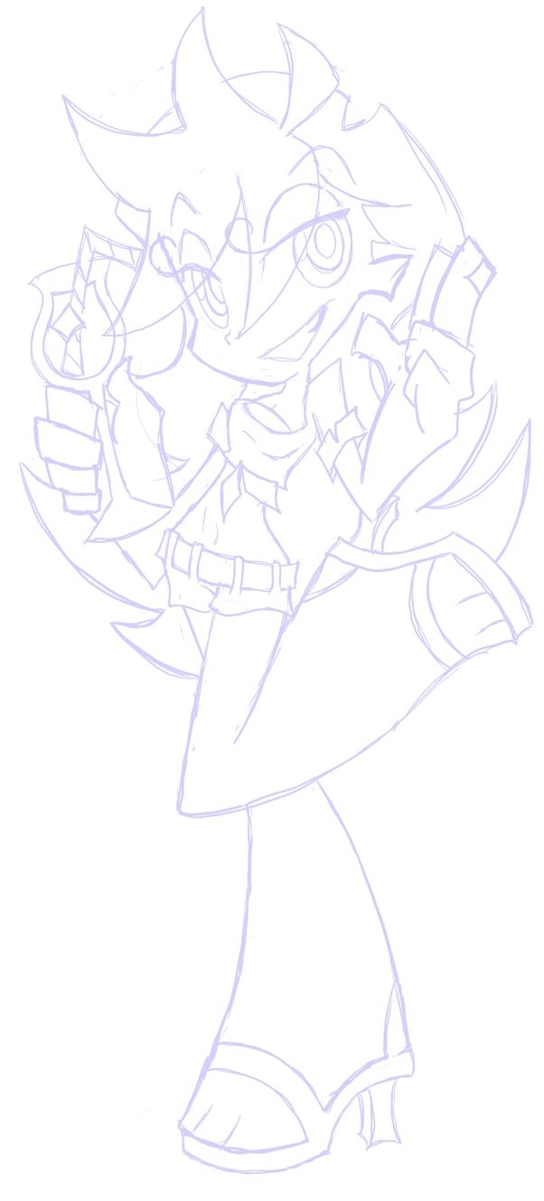 Panty sketch by kimy-k0