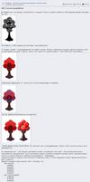 PixelArt - pixel tree step by step