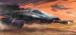Desert Spaceship