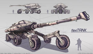 Tank Concept Design Technical Drawing