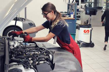 audi mechanic by SarahSahne