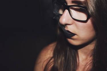 black smoke by SarahSahne