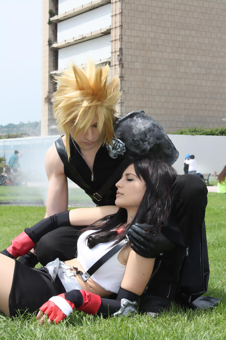 Tifa Lockhart and Cloud Strife by Eyes-0n-Me