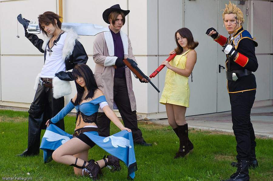 FFVIII group by Eyes-0n-Me