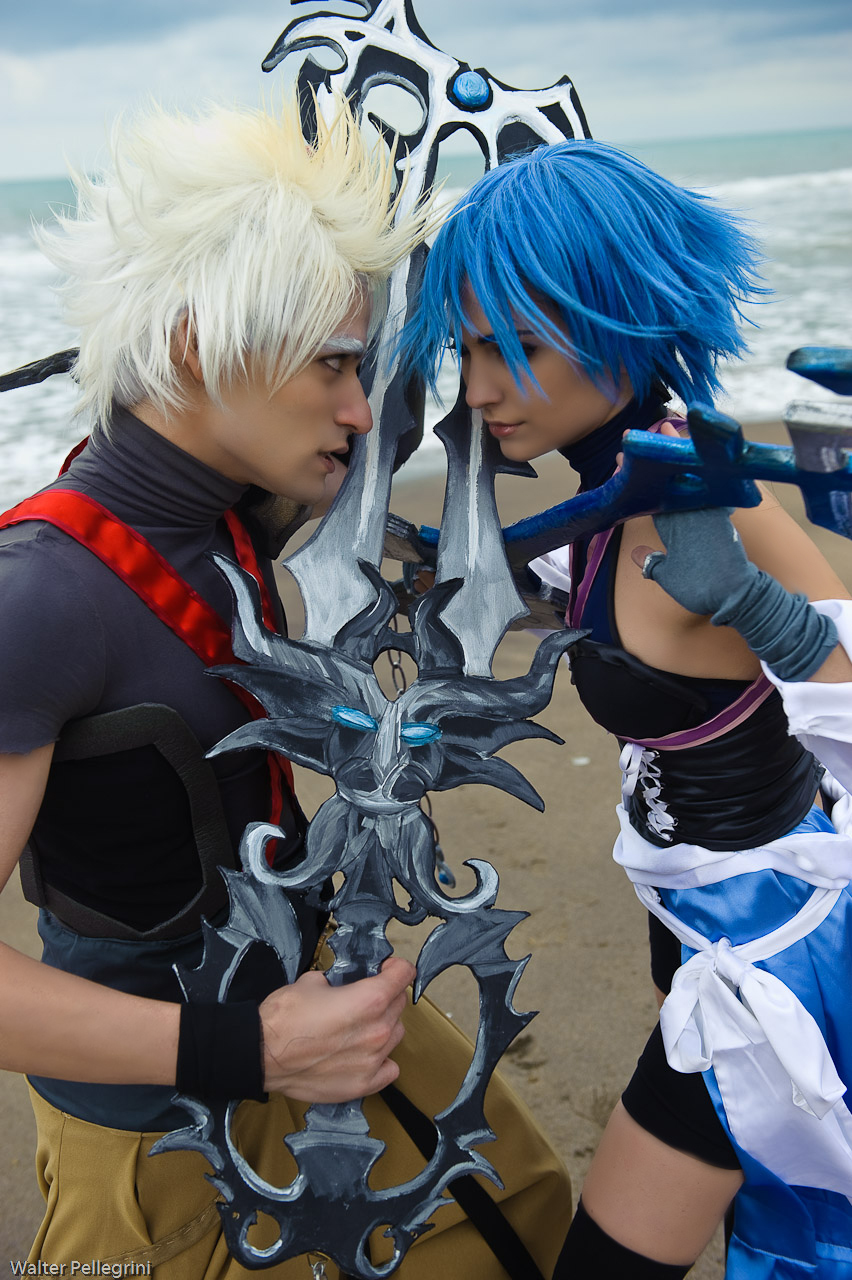 Terranort and Aqua Cosplay by Eyes-0n-Me