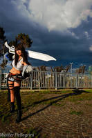 Rinoa with Gunblade by Eyes-0n-Me
