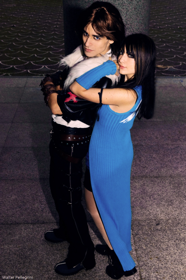 Squall And Rinoa Cosplay Rinoa And Leon Cosplay by