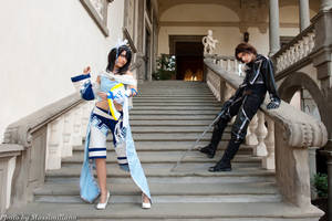 Squall and Rinoa by Furesiya
