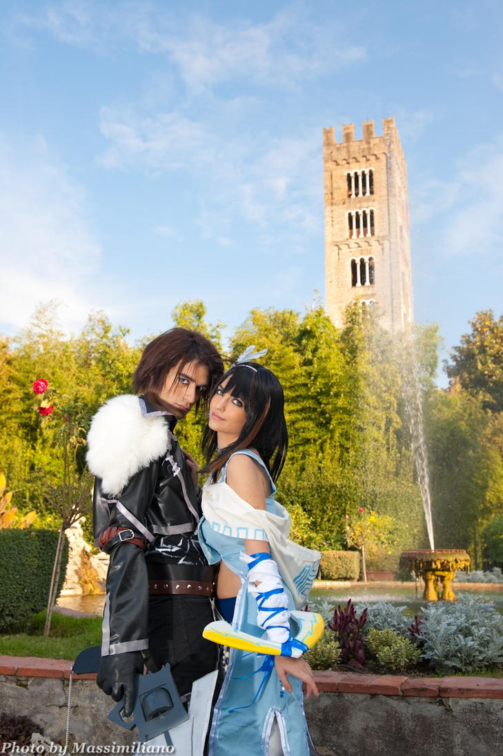 Rinoa and Squall original by Eyes-0n-Me