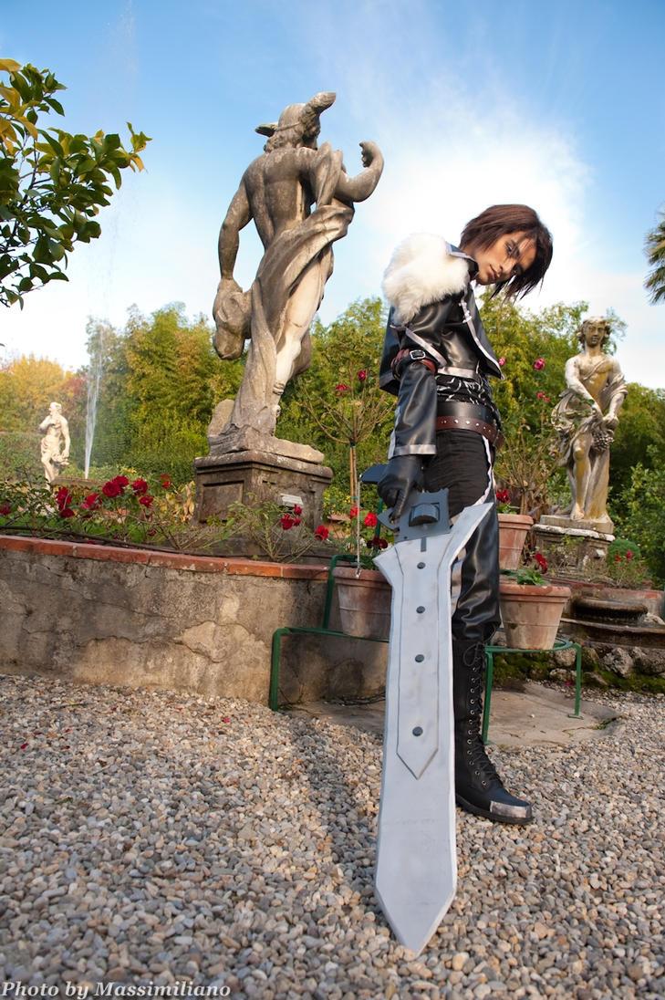 Squall Stoic Mercenary by Eyes-0n-Me