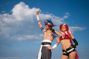 Kamina and Yoko