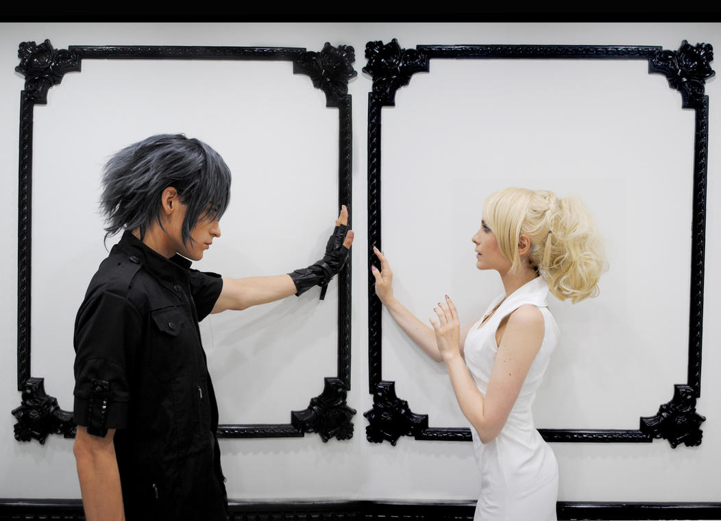 Noctis Lucis Caelum and Lunafreya Nox Fleuret by Eyes-0n-Me on ... Final Fantasy Rinoa And Squall