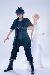 Final Fantasy XV Noctis and Lunafreya by Eyes-0n-Me