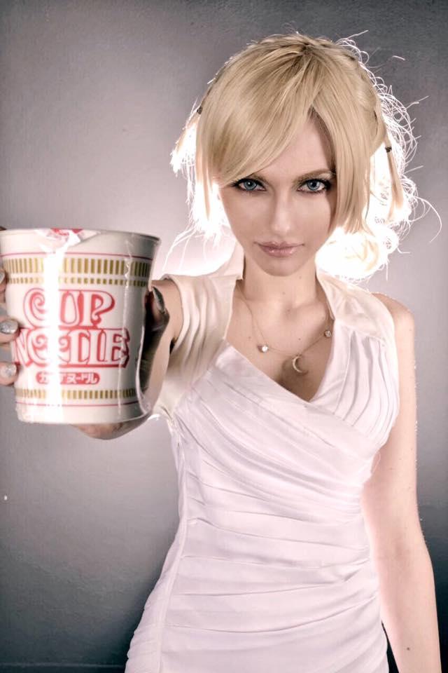 Lunafreya Nox Fleuret Cup Noodle by Eyes-0n-Me