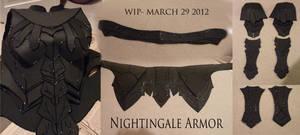 Nightingale Armor WIP Compilation 1