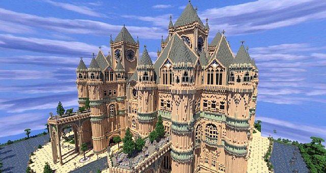 Скачать карту Замок для Minecraft