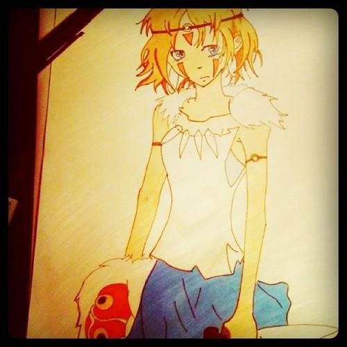 Princess Mononoke by Mr-Yipster