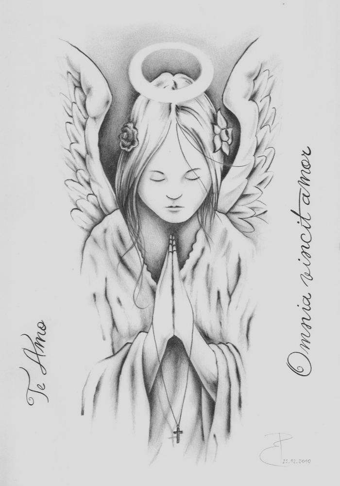 Praying angel by PavolBosik on DeviantArt
