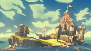 Windfall Island by AidanJWAR