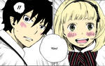 Shiemi and Rin Coloured Scan