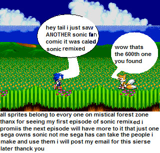 sonic remixed episode 1 by RemixedComics