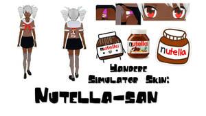 Yandere Simulator Skin: Nutella-san