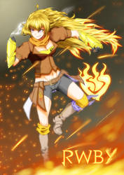 Yellow Burns Gold
