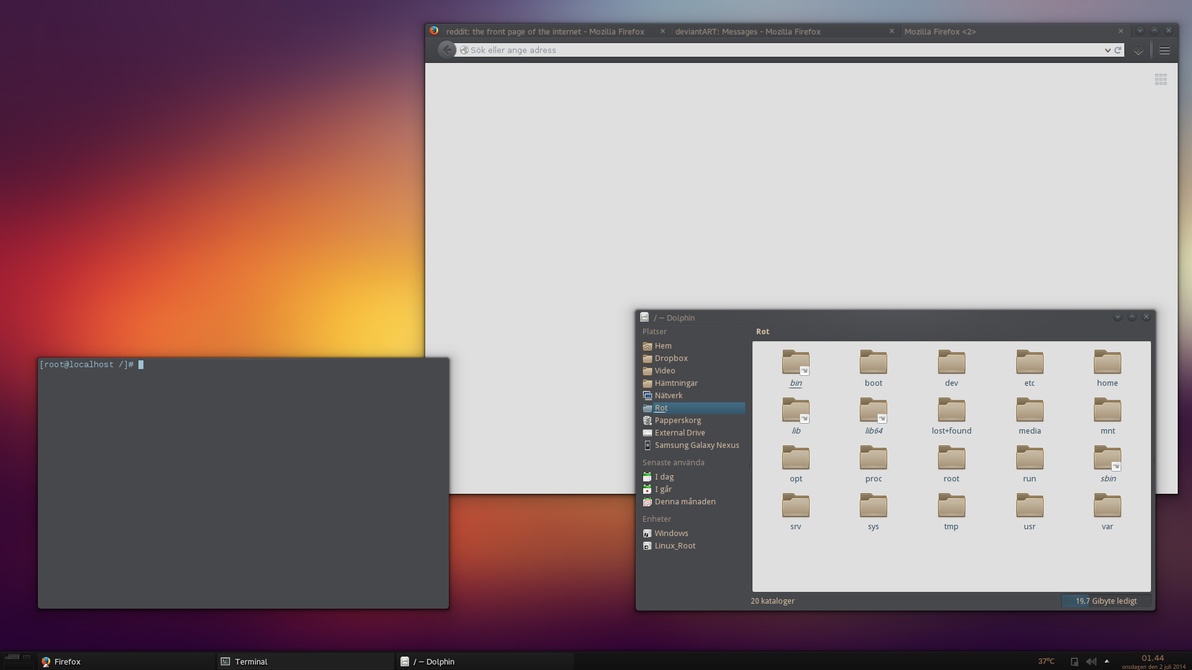 KDE is pretty cool by ProteinPannkaka