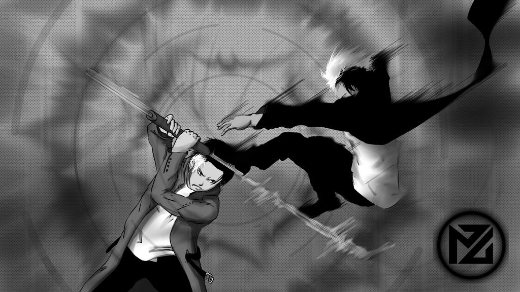 Brothers' brawl by MaytexisZock