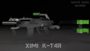 XIMI K-T4R (K-TAR) submachine gun concept