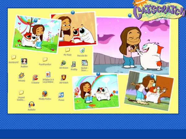 Gordon and Kimberly Desktop by IrkSplee
