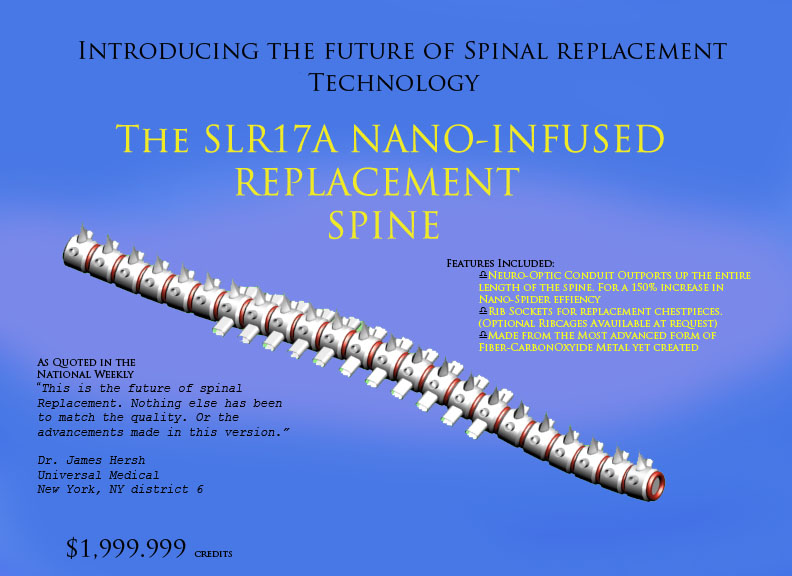 SLR17A Nano-Infused Spinal Re by kanzer69