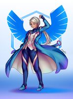 Blanche - Team Mystic by MHGenova