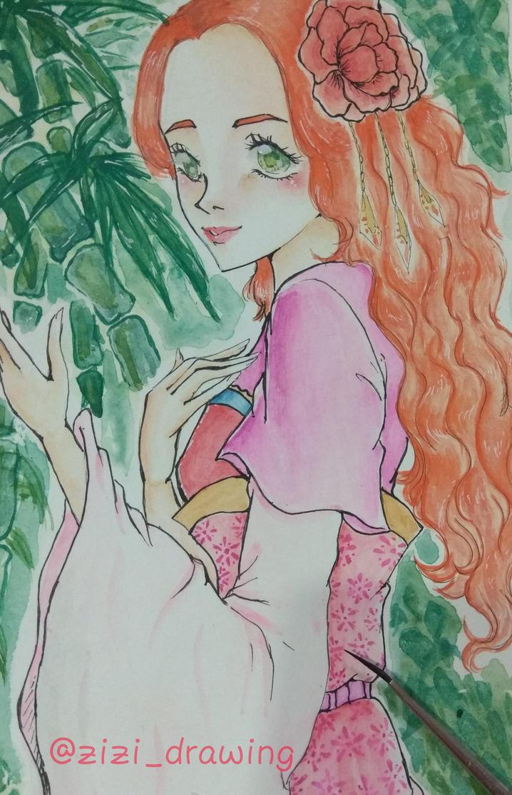 Kimono Girl  by ZiZiSalas